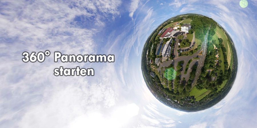 Sporthotel Glockenspitze im 360° Panorama