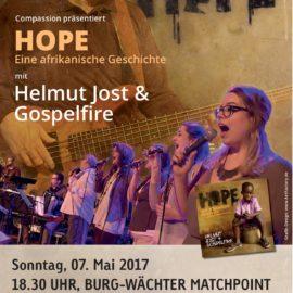 HOPE Konzert am 07. Mai