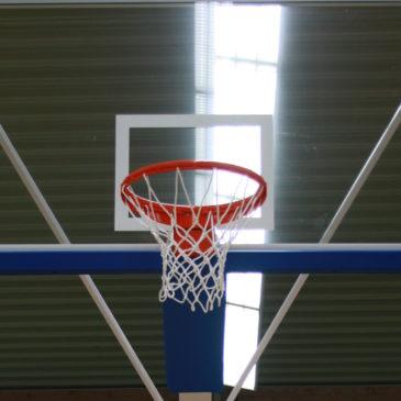 FIBA-Court Speed-Lock S20 & Schelde Super SAM 325 FIBA Level 1 erhalten Einzug